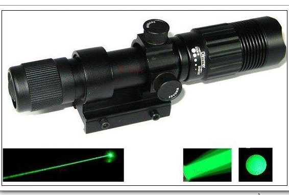 Optics Green Laser Designator Durable Night Vision Weaver Mount