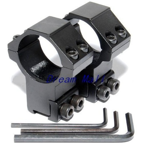 High Quality Scope Mounts 30mm Rings for 11mm Dovetail Rail