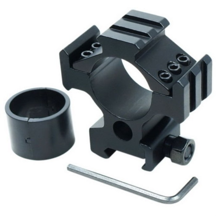 25.4mm/30mm Tri-Rail Tri Side Profile Scope Flashlight Ring Mount 20