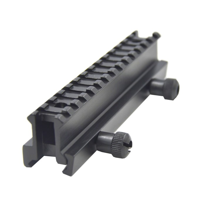 20mm to 20mm RIS Scope Flashlight Slot Weaver Extend Mount Rail