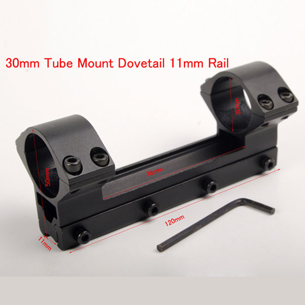 30mm Tube Scope Mounts Weaver Rail Mount High Profile Fit 11mm Rail