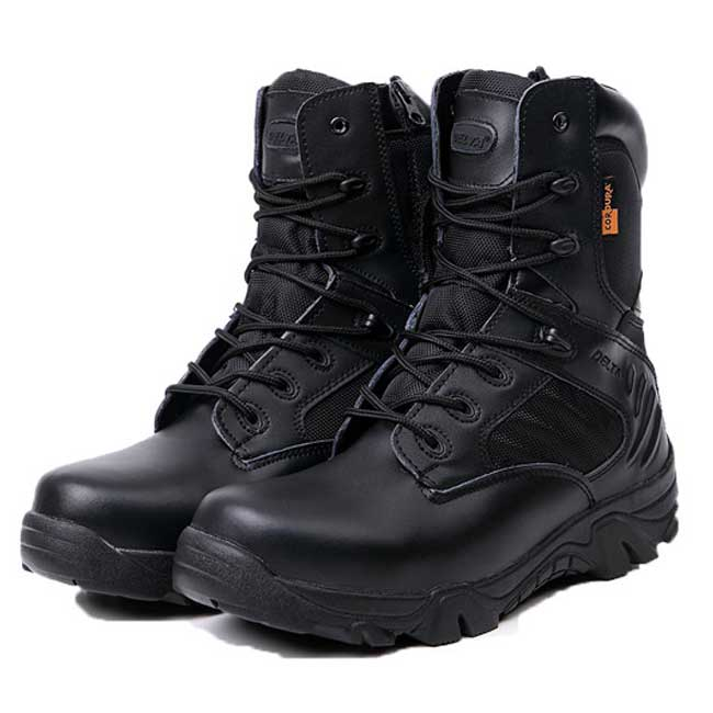 Delta Tactical Boots Military Desert Combat Shoes Size 39-45 BK