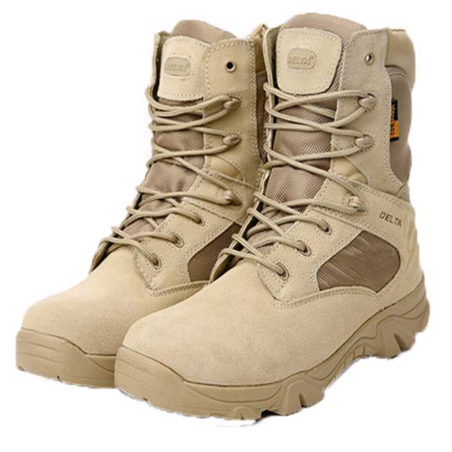 Delta Tactical Boots Military Desert Combat Shoes Mens Size 39-45 DE