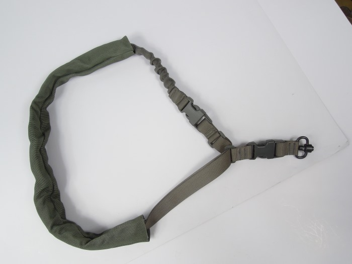 Quick Detach Tactical Single Point Rifle Sling Gun Sling Swivel Gray