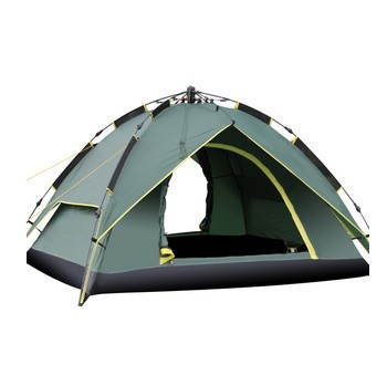 Outdoor Automatic Tents Two-story Design 210T Prevent Storm