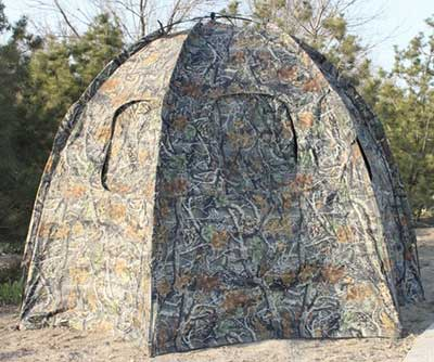 Outdoor Hexagon Stents Six skylight Camping Tent Camo