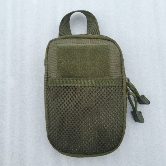 Tactical Small Backpack Outside Waist Bags Green