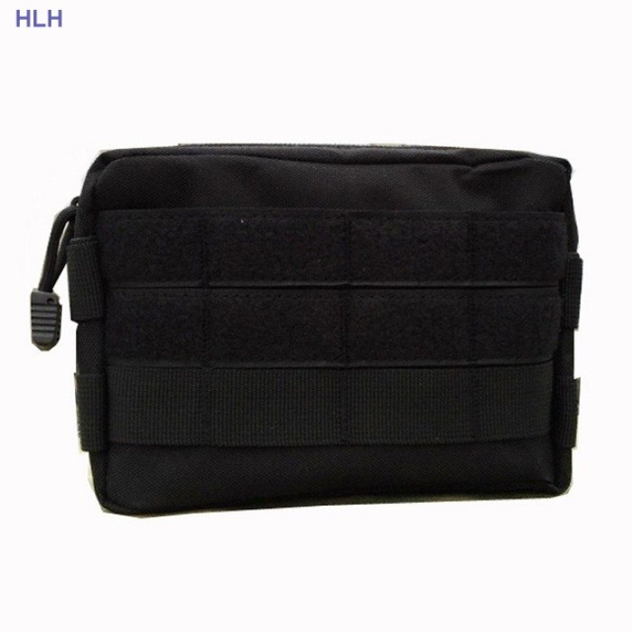 Tactical Molle Bags Milltary Burger Pouch Durable Bags Black