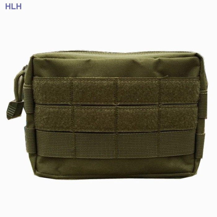 Tactical Messenger Bag Fly Fishing Camping Equipment Bag Green