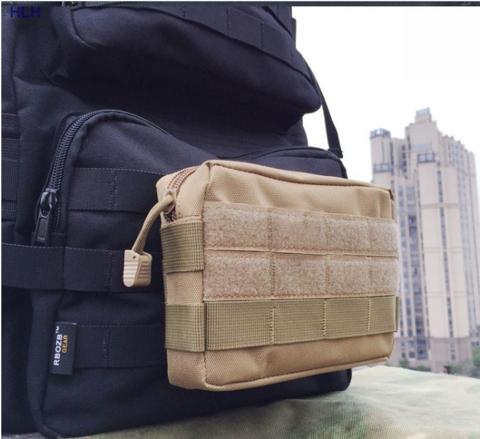 Men's Hunting Bags For Travel Nylon Hiking /Camping Bag Tan color