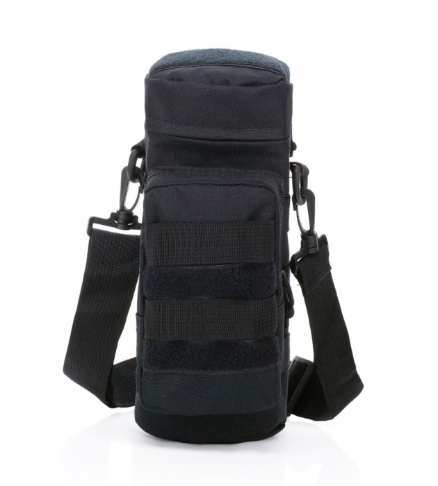 Tactical Military Shoulder Packbag Hunting Water Bags Black