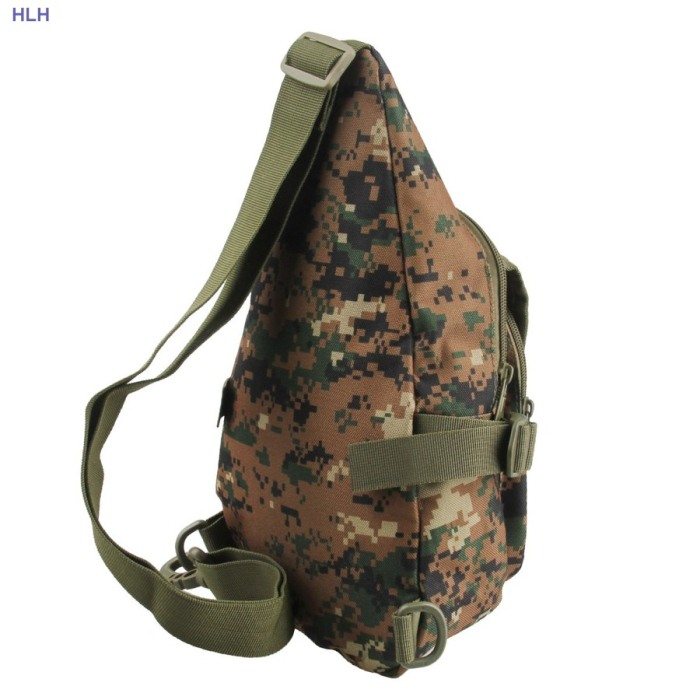 Tactical Single Bag Digital camouflage Multifunction