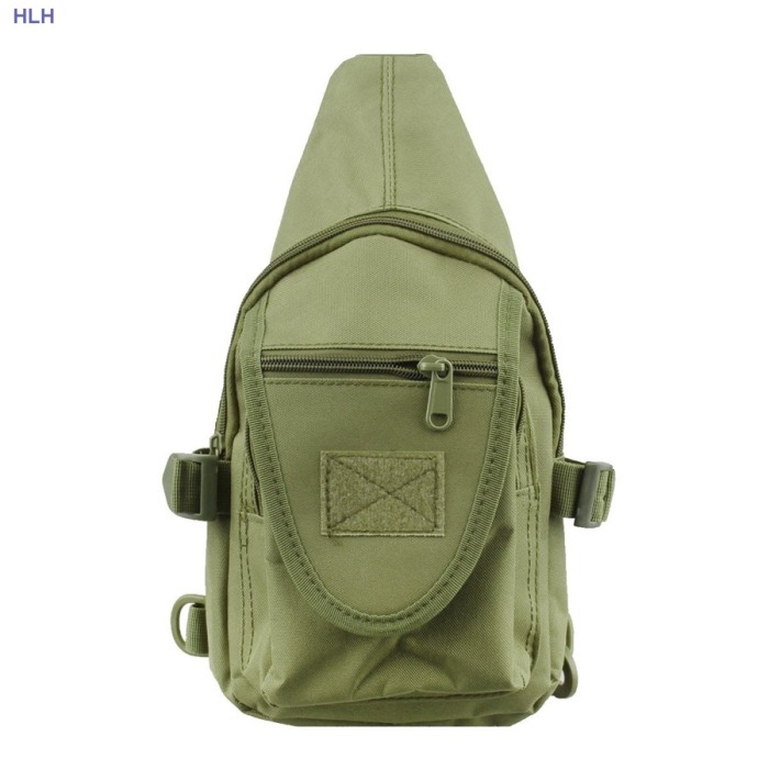 Phone Case Molle Chest Bag For Man Tactical Hunting Packpack Green