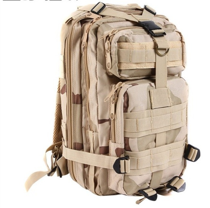 Tactical Outdoor Travel Backbags Molle Shoulder Packbag