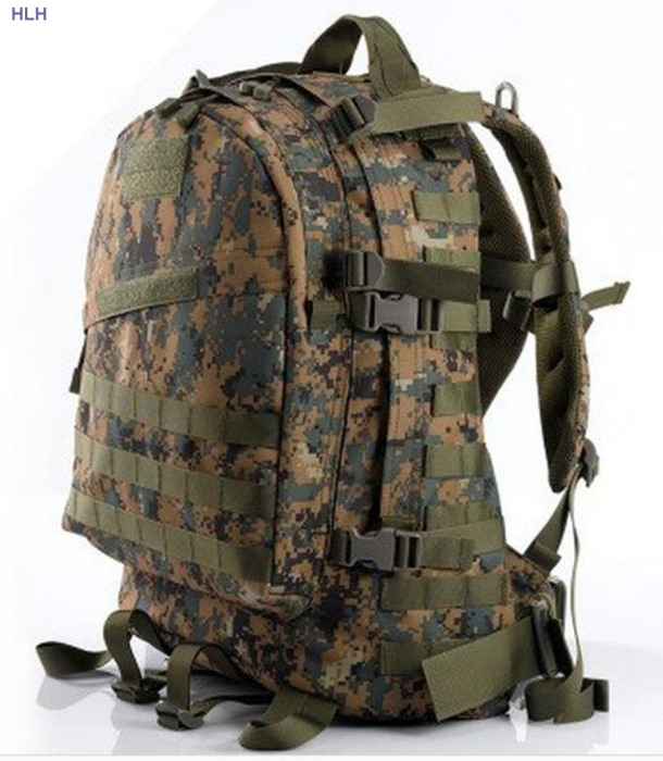 Assault Tactical Sport 3D Male Bags Strong Belt Man Bags CLSM