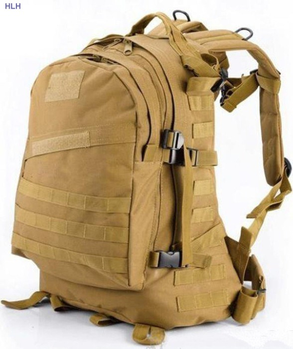 Tactical Men Bags For Outdoor Hunting/Climbing/Hiking Tan Color