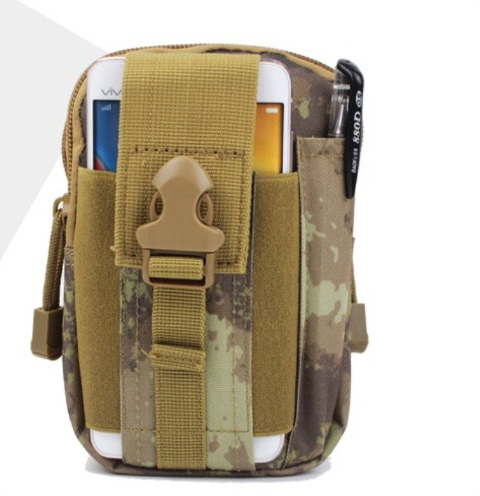 Military Chest PackBags Tactical Hunting Phone/Purse Bags CP