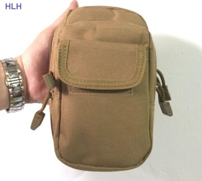 Tactical Molle Bag Pouch Belt Waist Packs Bag Pocket Military Pack