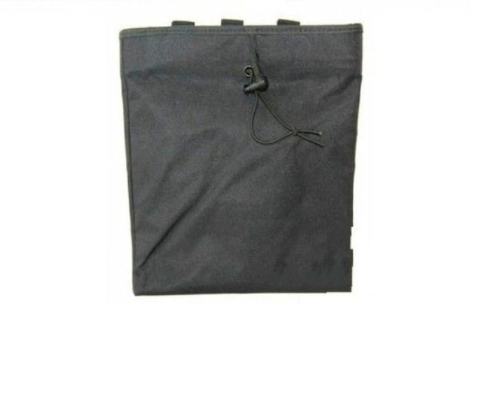Molle Recycling Bags Tactical Nylon Waist Bags Black
