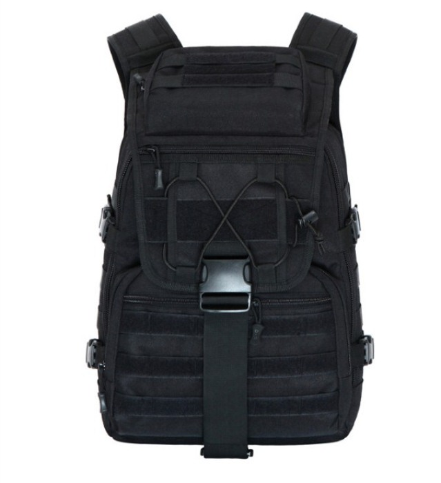 Tactical Swordfish Package Nylon Molle Sport Backpack Black