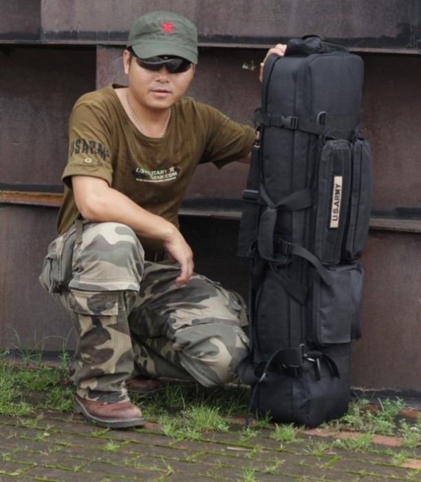 Tactical Travel Rucksacks Camping Hiking Trekking Camouflage Bag