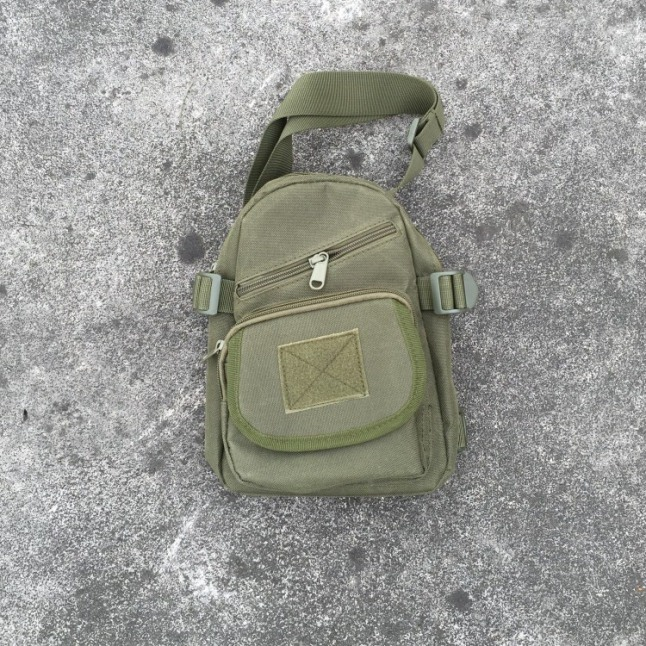 Army Fan Tactical Chest Bags Packbags Sports Waist Bags Green
