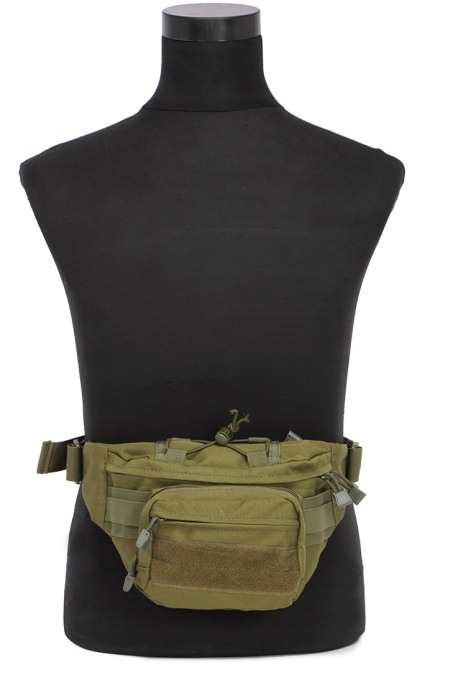 Military Cycling Climbing Chest Packbags Sports Shoulder Bags Green