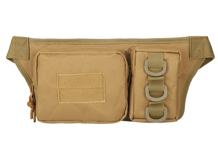 Newest Sport Tactical Waist Packbags Hunting Pack Tan