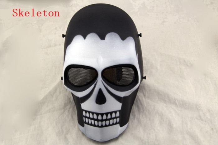 The Camouflage Ghost DeathGrim Reaper Mask Skull Mask BY