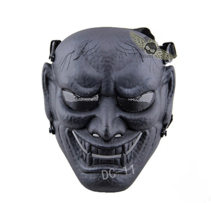 Military Paintball Tactical Skull Airsoft Full Face Masks Black