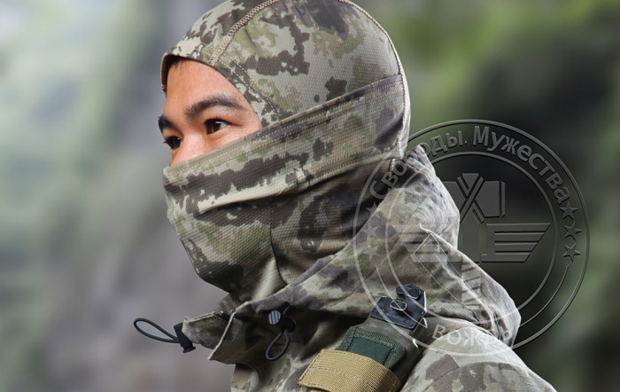 Tactical Hood Army Fans Military Scraf Half Face Mask QDX