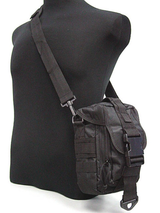 Tactical Molle Multi-Functional Bags Medical Army Bag Black