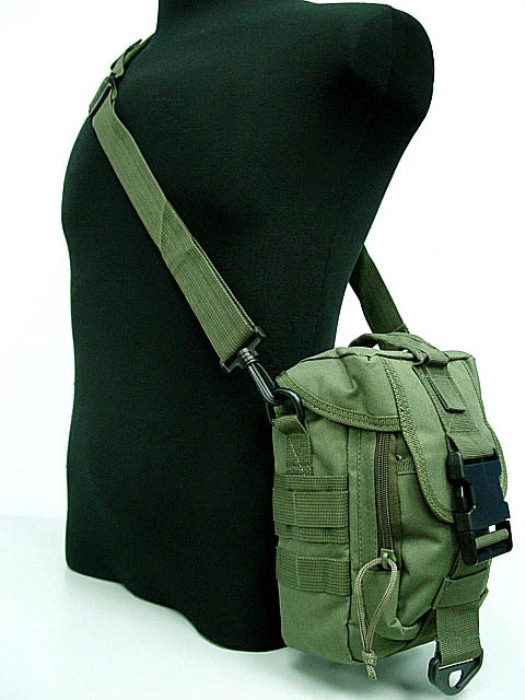 Tactical Molle Multi-Functional Bags Medical Army Bag Green