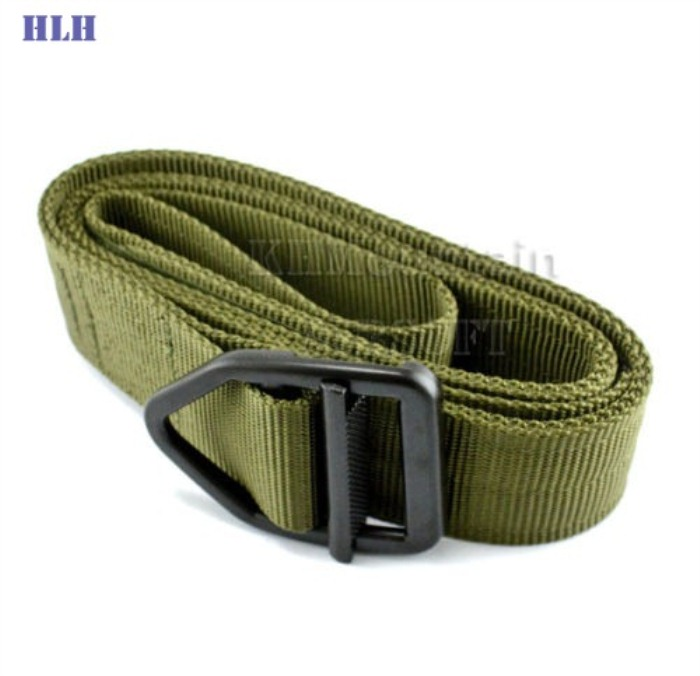 Outdoor Tactical Belt Multifunctional Security Belts Green