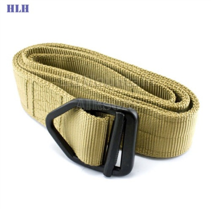 Outdoor Tactical Belt Multifunctional Security Belts Tan