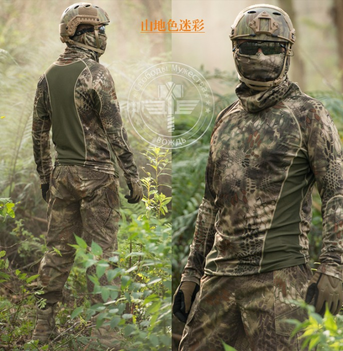Breathable Hunting T-Shirt Quick Dry Summer Hunting Shirt