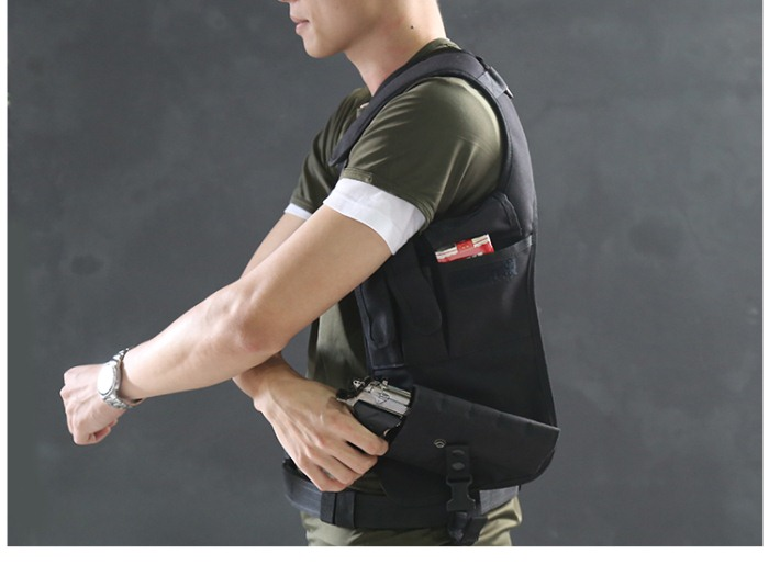 Hot sales Outdoor Tactical Waist Pistol Holster Hidden Gun Bag