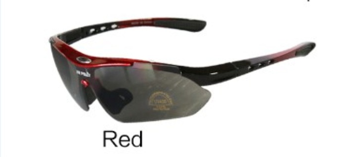 Tatical Goggle PC Lens EyewearSports Sun Glasses Red
