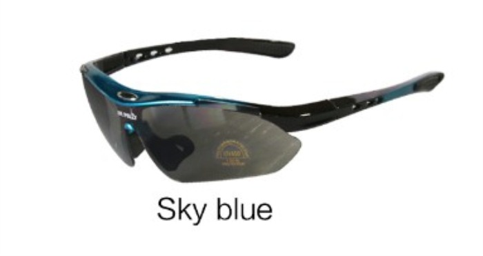 Men and Women Sunglasses Cycling Goggles Sky Blue
