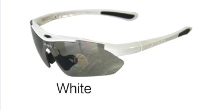 Unsiex Summer Classical Cycling Sun Glasses White