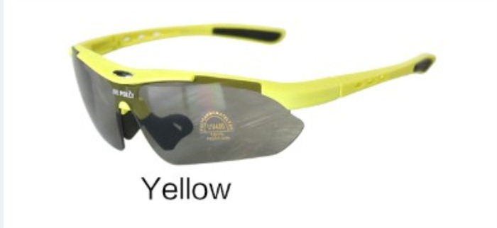 Sports Sun Glasses Tatical Goggle PC Lens Eyewear Yellow