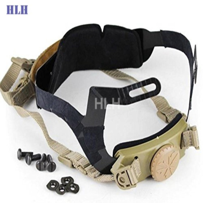 Good Quality Tactical CS Special Helmet Protective Belt Tan