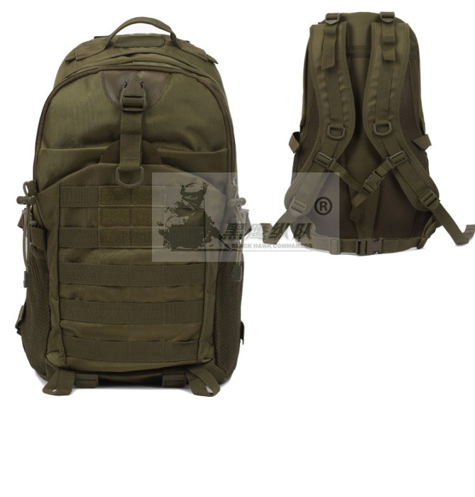 Paintball Hunting Camping Hiking Oxford Capacity Tatical Packbag Gre