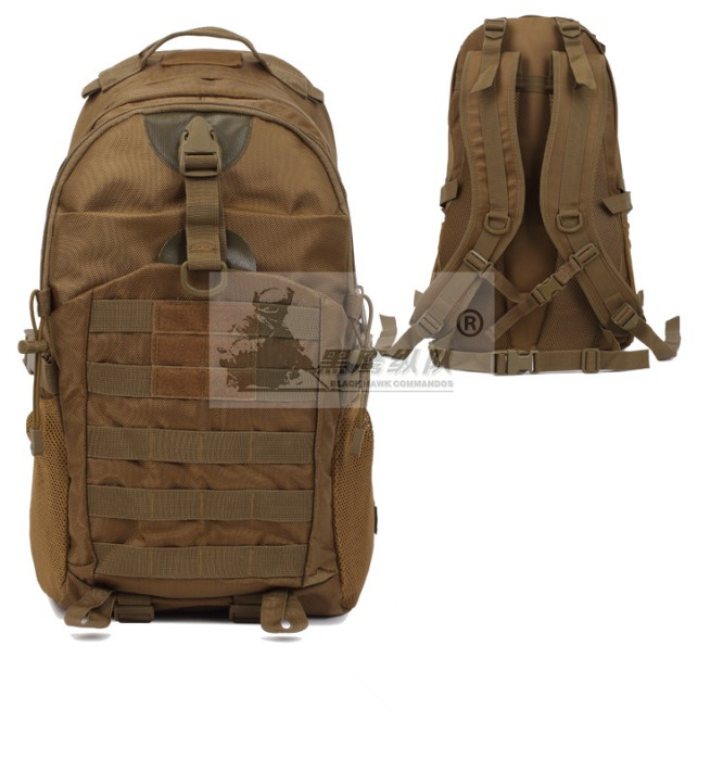 Tactical Messenger Bag Fly Fishing Camping Equipment Bag Tan
