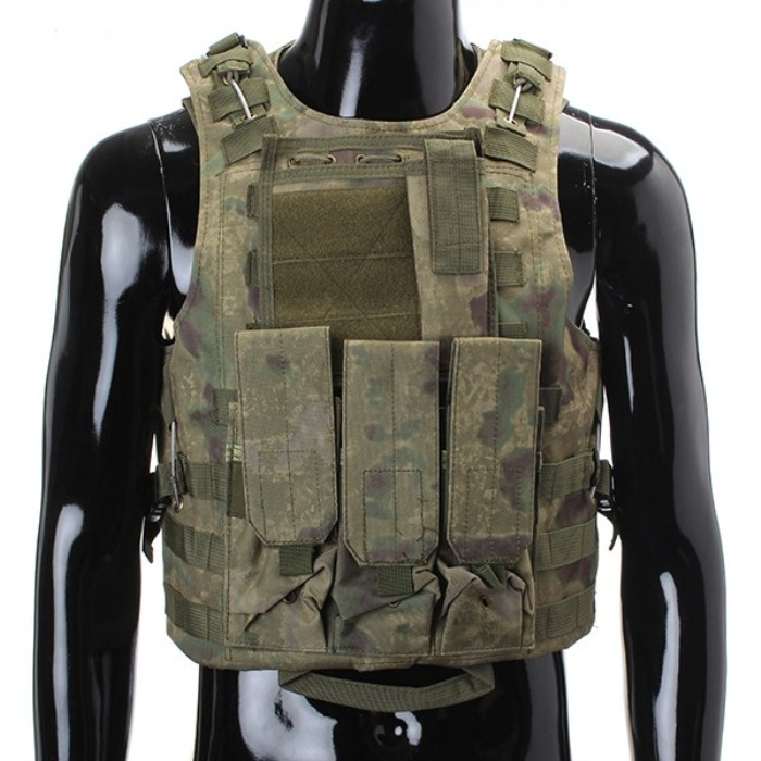 Army CS Combat Tactical Vest Military Protective Airsoft Waistcoat