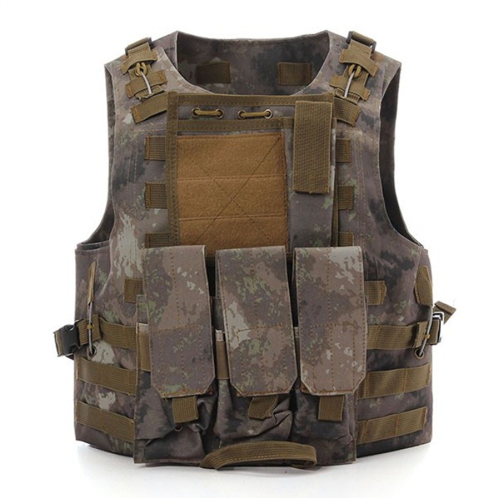 CS War Game Hunting Security Training Tactical Vest ATS Color