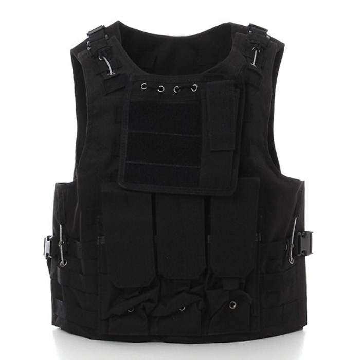 Tactical Army Protective Travel Vest Hunting CS War Game Molle Waist