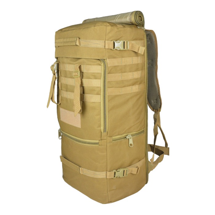 Tactical Airsoft Military Packbag Outdoor Tactical Travel Bag Tan