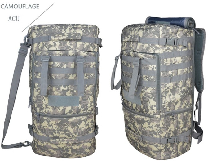 Tactical Outdoor Travel Backbags Molle Shoulder Packbags ACU Color