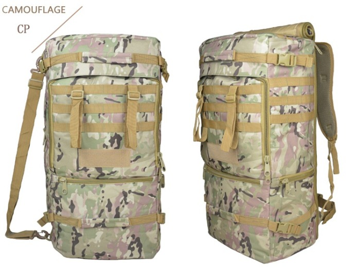 Tactical Messenger Backbags 1000D Oxford Meterial Packbags CP Color